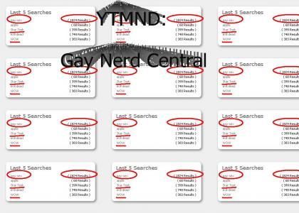 YTMD: Gay nerds?