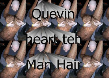 Quevin loves hairy ass!
