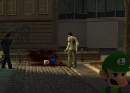 Luigi killed Mario!!!!