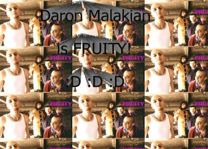 System of a Down's Daran Malakian is fruity!