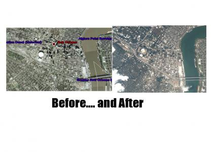 Katrina- Before and After