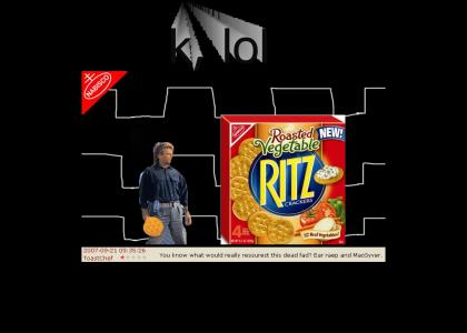 NABISCO: MacGyver saves Ritz