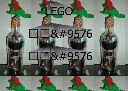 LEGO Castle in a Bottle