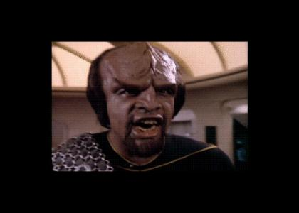 Worf Stares Into Your Soul