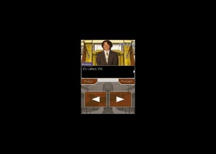 Phoenix Wright tries to defend Wii (update)