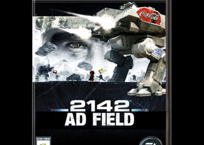 Real Battlefield: 2142 box art