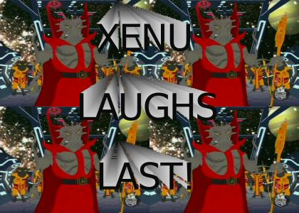 Xenu Laughs Last!