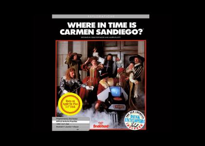 Carmen Sandiego's Safety Not Guaranteed