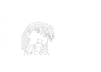 Azumanga Daioh... in ASCII art?!