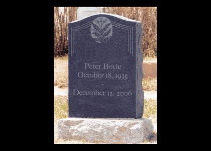 RIP Peter Boyle ~ Still Puttin' on the Ritz (Young Frankenstein)