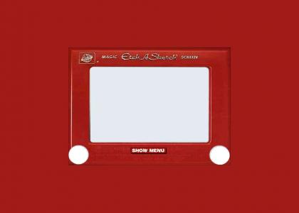 HIDDEN ETCH-A-SKETCH MESSAGE (refresh) *look closely* (NEW PIC!)