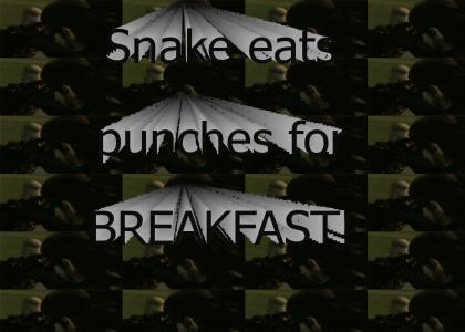 MGS3: Punch Eater