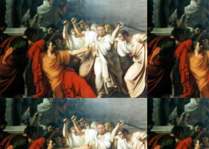 Et tu, Brute?  (Brutus' TRUE identity!)