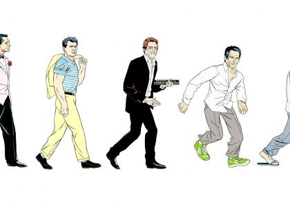 Evolution of the Leading Man