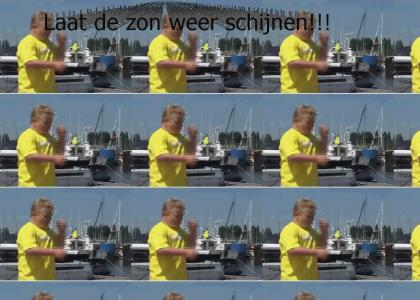Zanger Bob drum solo