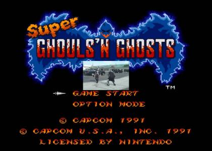 Ghouls N' Ghosts Is Pretty Cool