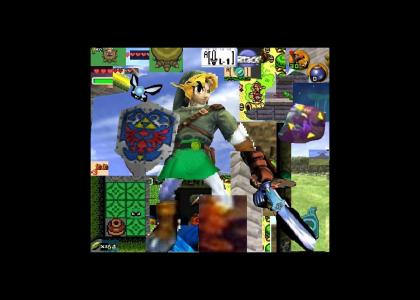 Link finds a secret portal!