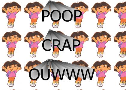 DORA THE EXPLORER FARTS LOUD