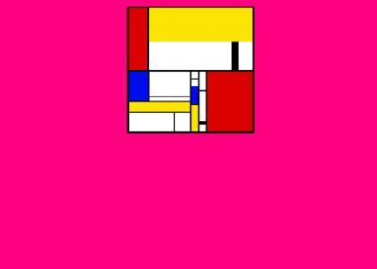 FF0080 vs. Mondrian