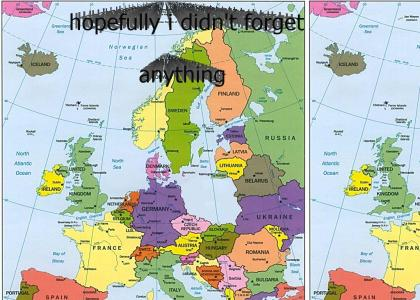 Map Of Europe(fixed)