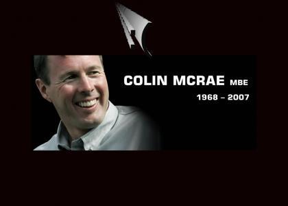 Colin McRae died