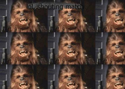 Worf VS. Chewbacca