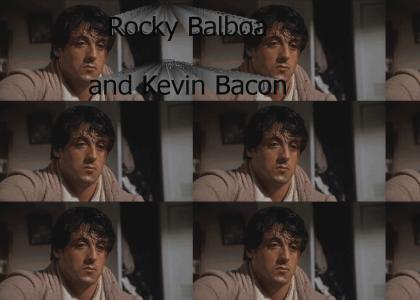 Rocky Balboa and Kevin Bacon