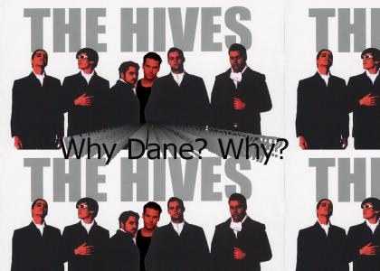 Dane Cook hates The Hives