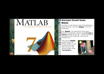 KOENTMND: OMG, Secret Matlab forest!