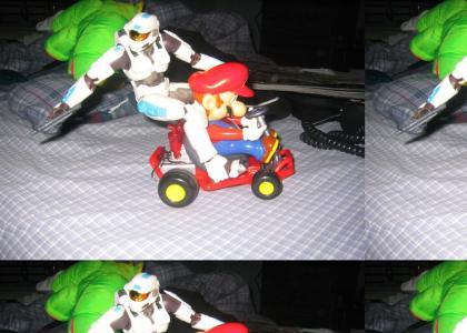 Halo + GTA + Mario =