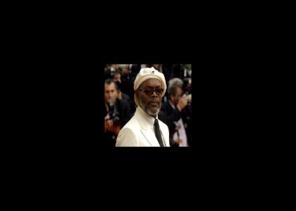 (NSFW) Samuel L. Jackson doesn't change hat styles