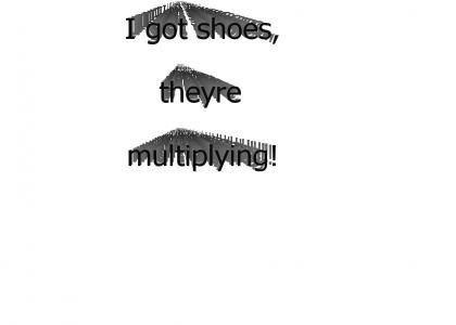I got Dew shoes
