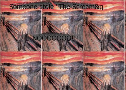 """Someone stole """"The Scream""""?"""