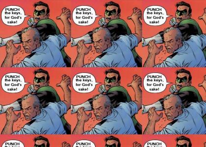 Hal Jordan enforces PTKFGS!