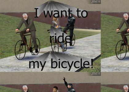 Half-Life 2 Bicycle race