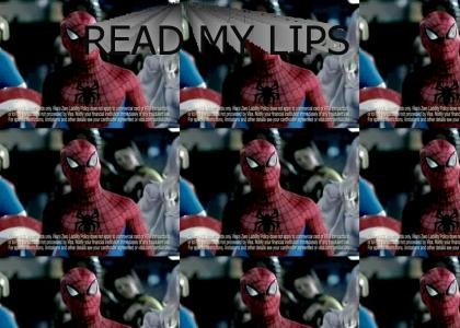 Spiderman saves you from...