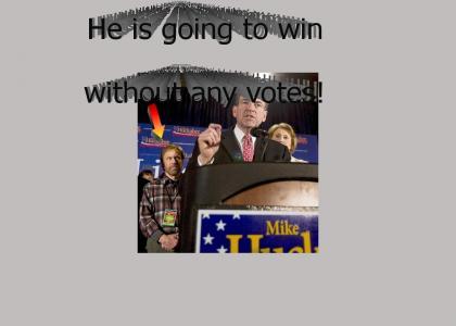 Huckabee's going to win