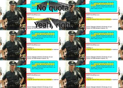 New York Police Dept. Fails