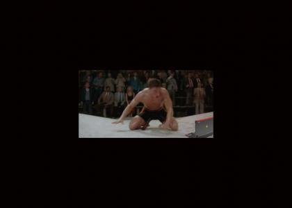 Van Damme watches 2 girls 1 cup