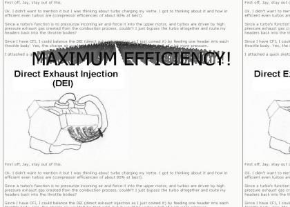 Direct Exhaust Injection