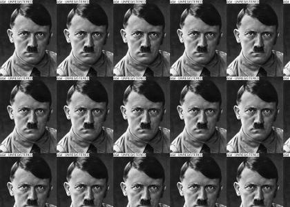 hitler stares into your soul