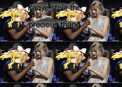 Kanye stole the precious thing