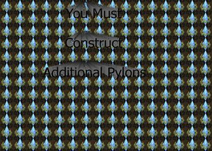 CONSTRUCT ADDITIONAL PYLONS