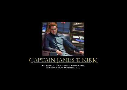 James T. Kirk is Too Awesome in 2009