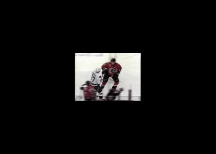 Not so Epic Hockey Fight