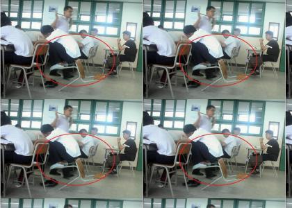 Epic Chair Maneuver