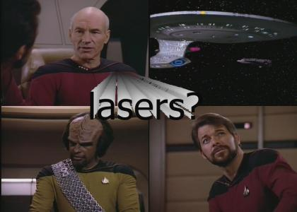 Captain, they are now locking LASERS on us.