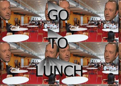 Kevin Spacey Insists That You Go To Lunch