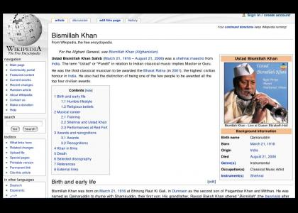 Bismillah Khan Will Not Be Let Go
