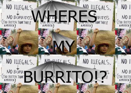 No Burritos!!!!!!!!